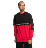 DC - Simmons - Sweatshirt - Black and Red