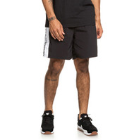 "DC - Welwyn 18"" - Elasticated Shorts for Men - Black"