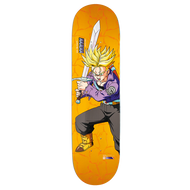 Primitive X Dragon Ball Z Diego Najera Super Saiyan Trunks Deck - 8""