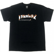 Thrasher Intro Burned Tee - Black