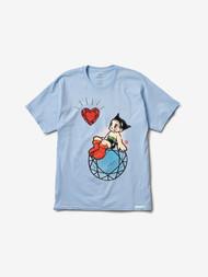 Diamond Supply Co X Astro Boy Heart Tee - Powder Blue