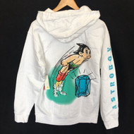 Diamond Supply Co X Astro Boy Soaring High Hoodie - White