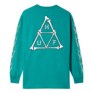 HUF Worldwide Boner Long Sleeve Tee - Biscay Bay