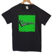 The Boardroom Wavey Tee - Black / Green