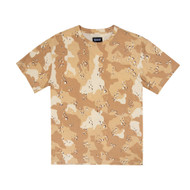 RIPNDIP - Nerm Camo All Over Tee - Choc Chip Camo