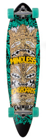 Mindless Tribal Rogue IV Complete Longboard - Teal