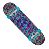 "Santa Cruz Blossom Dot 8"" Skateboard Complete"