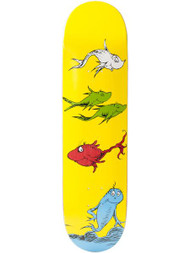 Almost Dr Seuss Yuri Skateboard Deck 8.25""