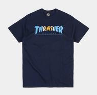 Thrasher Argentina Tee - Navy