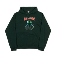 Thrasher Skateboard Magazine Doubles Hoodie - Green