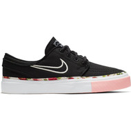 Nike SB Kids Janoski Skate Shoes - Black / Pink Tint