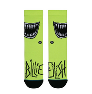 Billie Eillish x Stance Grin Socks - Neon Green