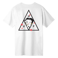 HUF X Betty Boop Triple Triangle Tee - White