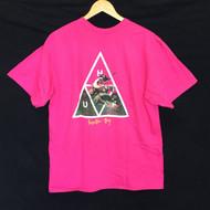 HUF Cave Women Tee - Hot Pink