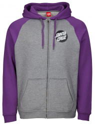 Santa Cruz Zip Hood Other Dot Zip Hood - Purple