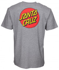 Santa Cruz T-Shirt OG Classic Dot Tee - Grey Heather