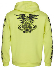 Santa Cruz Hood Natas Panther Hood - Yellow Glow in the Dark