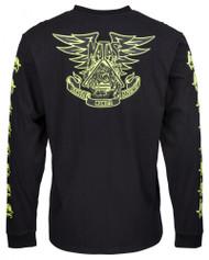 Santa Cruz Longsleeve T-Shirt - Natas Panther LS Tee - Black