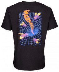 Santa Cruz T-Shirt Fly-Mensional Tee - Black