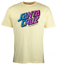 Santa Cruz T-Shirt Stack Fade - Lemon