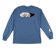 Welcome Skateboards Longsleeve Sleeping Cats - Slate