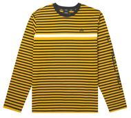 HUF Worldwide - Morris Long Sleeve Knit Top - Yellow