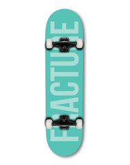"""Fracture Fade 8"""" Complete Skateboard - Green"""