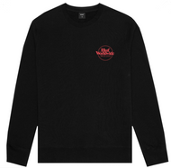HUF Worldwide Issue Logo Crewneck - Black