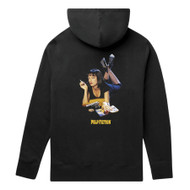 HUF x Pulp Fiction - Mia Triple Triangle Hoody - Black