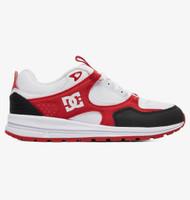 DC Kalis Lite Kids Skate Shoes - White / Black / Red
