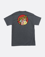 Santa Cruz x SpongeBob Squarepants - Group Tee - Grey