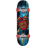 "Santa Cruz Mushroom Dot Mid 7.3"" Complete Skateboard"