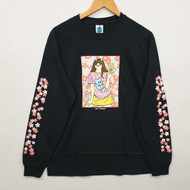 Leon Karssen Blossom Long Sleeve Tee - Black