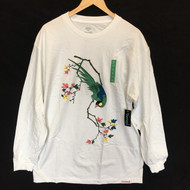 Diamond Supply Co - Perched Longsleeve Tee - White