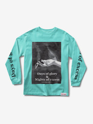 Diamond Supply Co - Days Of Excess Longsleeve Tee - Mint