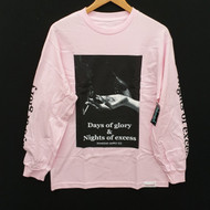 Diamond Supply Co - Days Of Excess Longsleeve Tee - Pink