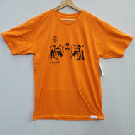 Diamond Supply Co - Tiger Eye Tee - Orange