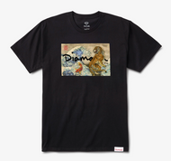 Diamond Supply Co - Tiger Wave Tee - Black