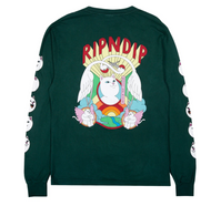 RIPNDIP - Spirited Away Longsleeve Tee - Hunter Green