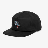 Thrasher Cap Leopard Mag Snapback Black
