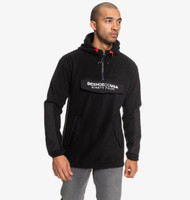 DC - Tagans - Half Zip Polar Fleece Hoody - Black