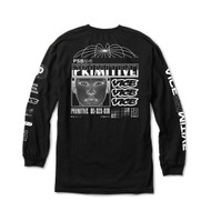 Primitive X Vice Feed Long Sleeve Tee - Black
