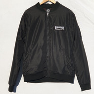 Thrasher Magazine - Bomber Jacket - Black