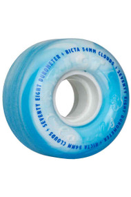 Ricta Clouds 54mm 78A Skateboard Wheels - Blue Swirl