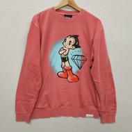 Diamond X Astro Boy Soaring Mighty Atom Sweatshirt - Red