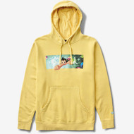 Diamond X Astro Boy Box Logo Hoodie - Yellow