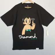 Diamond Supply Co X Astro Boy  Tee - Black