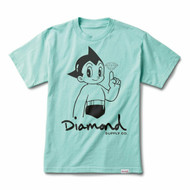 Diamond Supply Co X Astro Boy  Tee - Blue