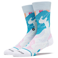 Stance x Jenny Sharaf - Spilled Color Socks - Multi White