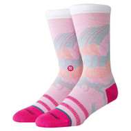 Stance x Jenny Sharaf - Spilled Color Socks - Multi Pink